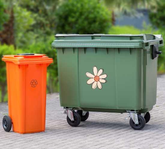 Какие бывают размеры и виды контейнеров для ТБО: определение объема