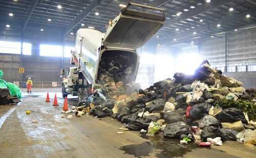 Вывоз мусора на мусороперерабатывающий завод