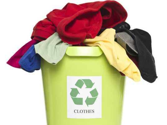 Утилизация одежды и другого текстиля в H&M