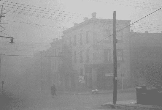 Кислотный туман в мегаполисе