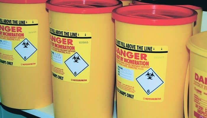 Опасные отходы, требующие особой утилизации