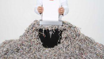 Уничтожение документов путем сжигания, шредирования, химической обработкой