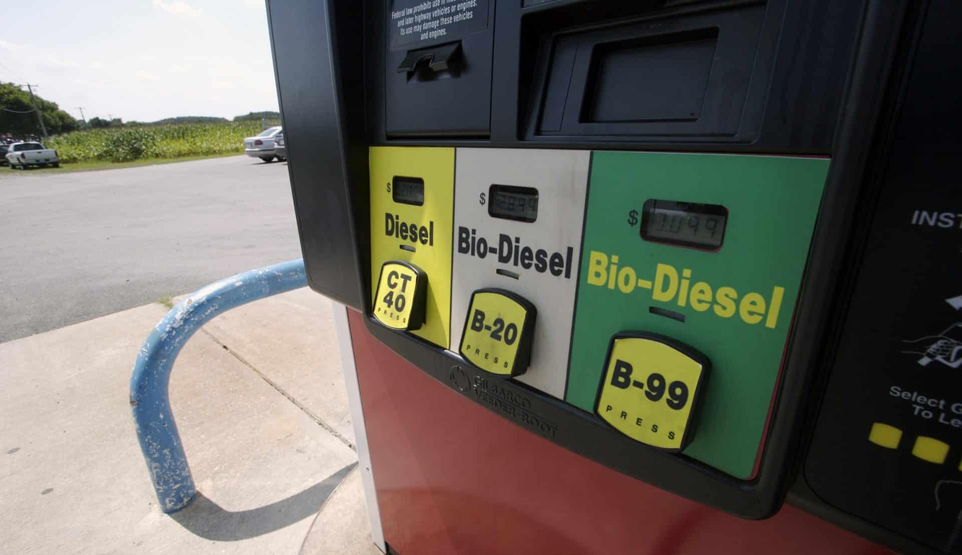 Способы производства и сырье для биодизеля
