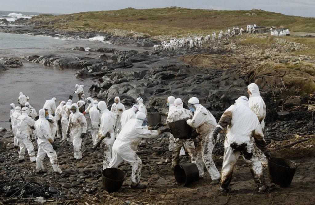 загрязнение нефтью тундры