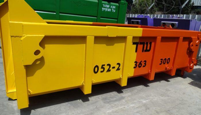 Виды и подбор контейнеров для строительного мусора