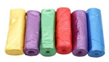 Видео мастер-класса по вязанию ковриков из пакетов для мусора