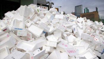 Виды и способы переработки отходов полистирола