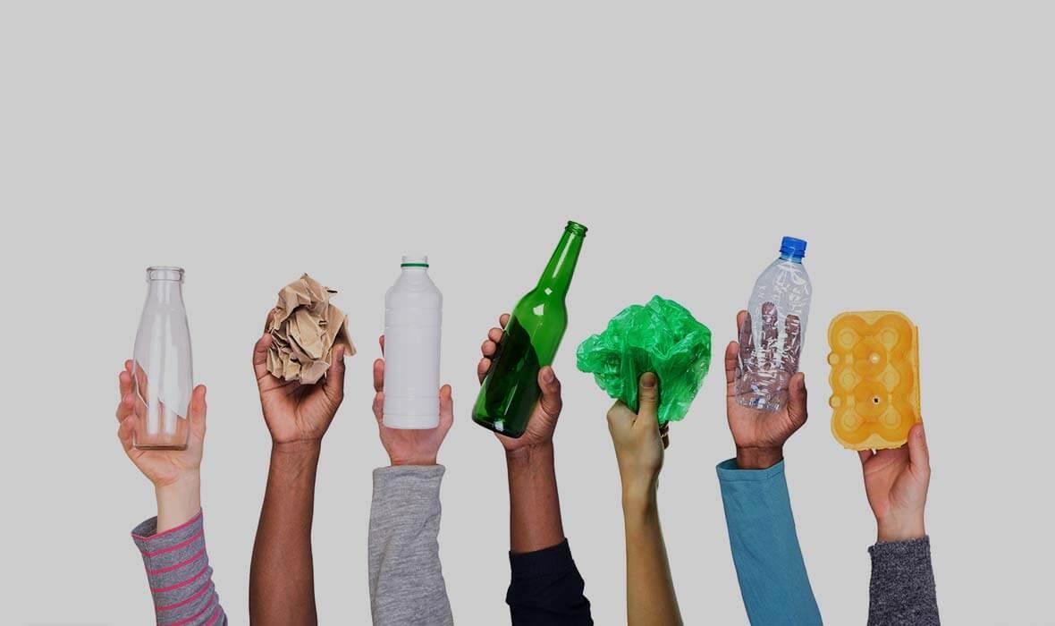 Сортировка пластика и бумаги